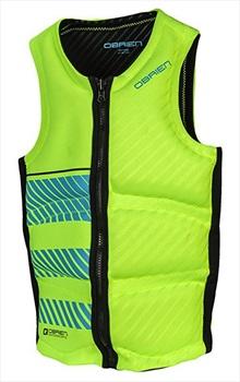 O'Brien Pro Series Wake Wakeboard Impact Vest, XL Green