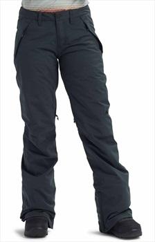 Burton Society Women's Snowboard/Ski Pants L Black Heather