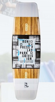 Ronix Press Play Park Wakeboard, 149 White Multi 2020