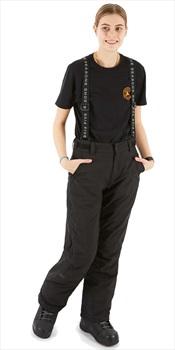 Five Seasons Evron Women's Ski/Snowboard Pants, S Black