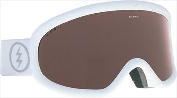 Electric Charger Brose Snowboard/Ski Goggles, M/L Matte White