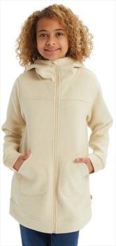 Burton Girls Minxy Girl's Full-Zip Fleece, S Creme Brulee