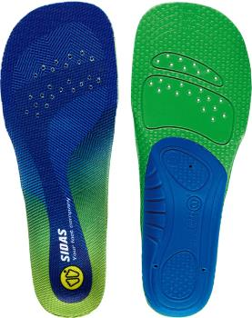 Sidas Comfort 3D Junior Kid's Boot/Shoe Insoles, L Blue/Green