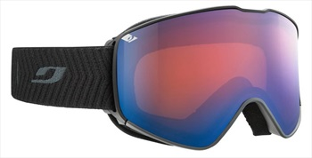 Julbo Adult Unisex Alpha Black, Spectron 2 Snowboard/Ski Goggles, L