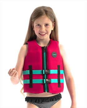 Jobe Neoprene Life Vest Kids Buoyancy Aid, 8 / 128 Hot Pink 2021
