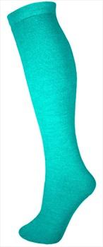 Manbi Essential Thermal Ski/Snowboard Tube Socks, UK 4-11 Turquoise