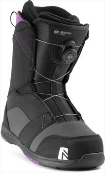 Nidecker Womens Maya Boa Women's Snowboard Boots, Uk 3.5 Black 2021