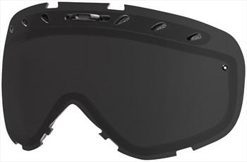 Smith Phenom Snowboard/Ski Goggle Spare Lens, Blackout