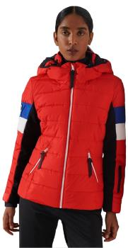 Superdry Alpine Revive Women's Ski/Snowboard Jacket UK 12 Apple Red
