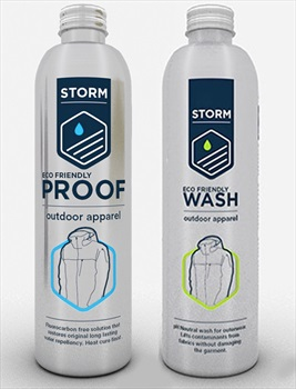 Storm Care Ultimate Apparel Care Kit Gear Cleaner & Waterproofer