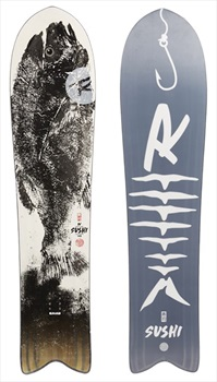 Rossignol XV Sushi LF White Hybrid Camber Snowboard, 144cm 2020