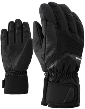 Ziener Galvin AS® Men's Ski/Snowboard Gloves, L Black
