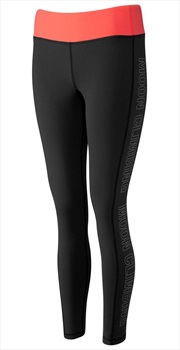 Moon Sigma Women's Climbing Leggings, UK 12 Black Outline