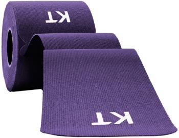 "KT Tape Cotton Original Precut Kinesiology Tape, 10"" x 2"" Purple"
