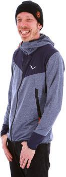 Salewa Adult Unisex Agner Hybrid Men's Durastretch Hooded Jacket, M Premium Navy