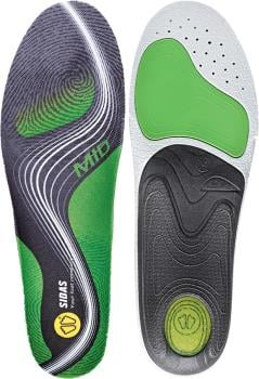 Sidas 3Feet Activ' Mid Running Insoles, S Green