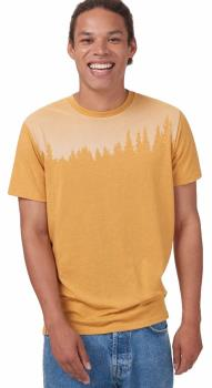Tentree Juniper Organic Cotton T-Shirt, S Sweet Birch Yellow Heather