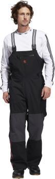 Adidas Adult Unisex 3l Bib Ski/Snowboard Pants, Xxl Black/Orange