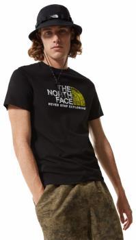 The North Face Rust 2 Cotton T-Shirt, L TNF Black