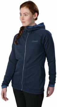 Berghaus Redonda Women's Hooded Fleece Jacket, UK 12 Dusk