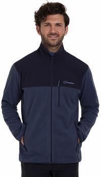 Berghaus Kyberg Full-Zip Polartec Thermal Fleece Jacket, S Indigo