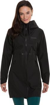 Berghaus Rothley Women's GTX Waterproof Jacket, UK 10 Black/Black