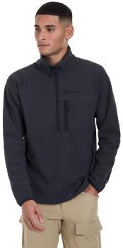 Berghaus Adult Unisex Stainton 2.0 Half-Zip Pullover Hiking Fleece , Xl Jet Black