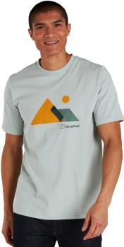 Berghaus Mountain Valley Men's Short Sleeve T-Shirt, S Grey