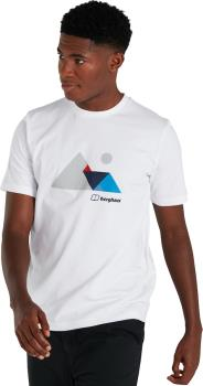 Berghaus Mountain Valley Men's Short Sleeve T-Shirt, S White