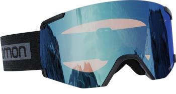 Salomon S/View Lo.Light Blue Snowboard/Ski Goggles, M/L Black