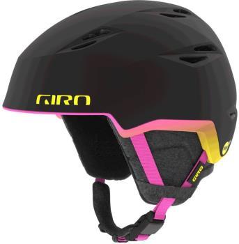 Giro Envi MPS Womens Ski/Snowboard Helmet S Matte Black/Neon Lights