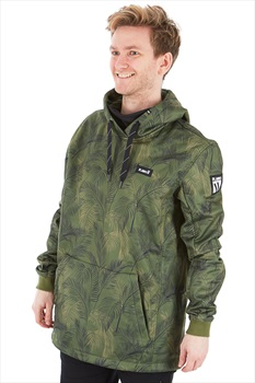 Planks Parkside Riding Hood Technical Hoodie, M Jungle Palm