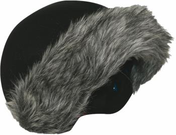 Coolcasc Exclusive Ski/Snowboard Helmet Cover One Size Grey Fur