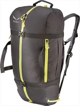 Salewa Ropebag Xl Rock Climbing Rope Bag, 36l Black/Citro