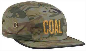 Coal The Lawrence 5 Panel Cap With Protection Flap, Camo