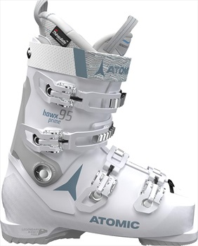 Atomic Hawx Prime 95W Women's Ski Boots, 25/25.5 Vapor/Light Grey 2020