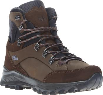 Hanwag Banks GTX Hiking Boots UK 8.5 Mocca/Asphalt