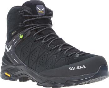 Salewa Alp Trainer 2 Mid GTX Men's Hiking Shoe, UK 8.5 Black/Black