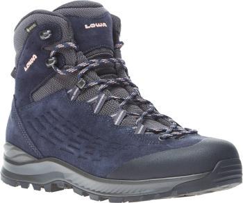 Lowa Explorer Mid Women's Gore-Tex Hiking Boots, UK 6 Navy/Rose