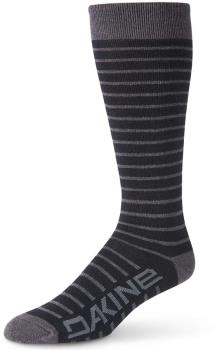Dakine Women's Thinline Ski/Snowboard Socks, S/M Black/Charcoal