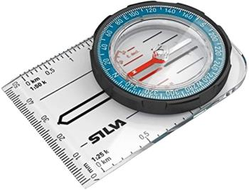 SILVA Field Compass 1:25K, 1:50K DofE Map Reading Aid, 360° Blue