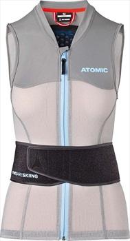 Atomic Womens Live Shield Vest AMID W Armour Vest, M Grey