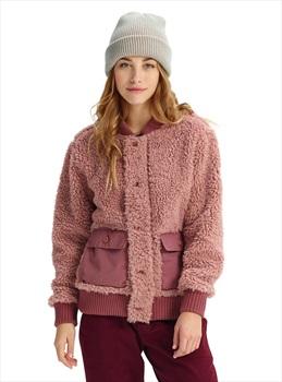 Burton Women's Shawmut Full-Zip Fleece Jacket, S Fawn