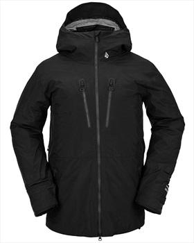 Volcom Tds Inf Ski & Snowboard Gore-Tex Jacket, M All Black