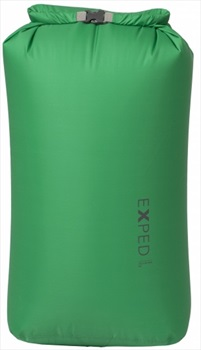 Exped Fold Drybag BS Waterproof Kit Bag, XL / 22L Emerald Green