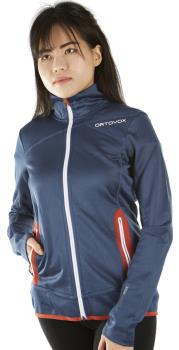 Ortovox Merino Fleece Women's Jacket - UK 10, Night Blue