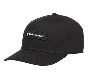 Black Diamond Black Label Hat Classic Baseball Cap, OS Black