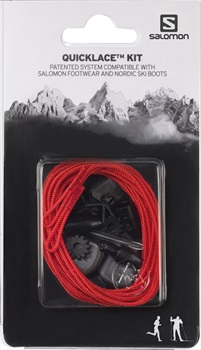 Salomon Quicklace Snowboard Boot Replacement Lace Kit One Size Red