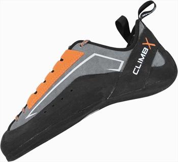 Climb X Crush Lace Rock Climbing Shoes UK 11 | EU 46 Orange/Grey