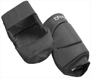 Demon Soft Cap Ski/Snowboard Knee Guard Pads, M Black
